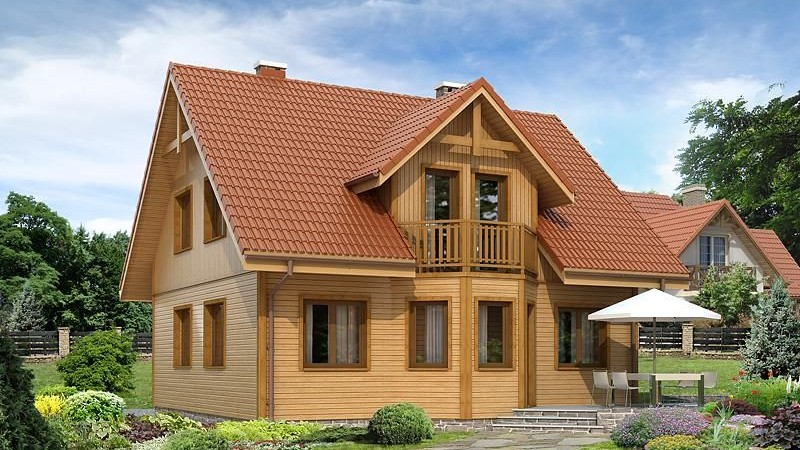 Будинок каркасний KAR 006